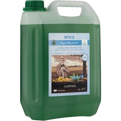 Biologisches Waschmittel Almwiese türkis 73 WG 4 x 5,05 Liter = 20,2 Liter