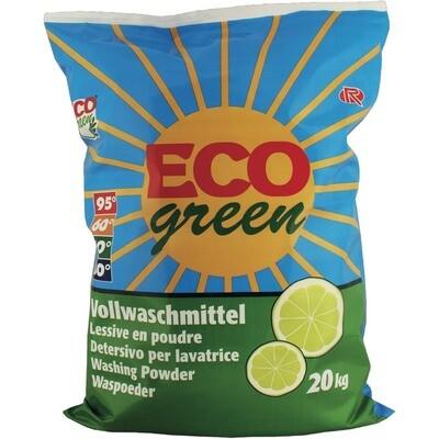 Grosspackung Eco Green Waschmittel 200 WG Pulver Universal 20 kg