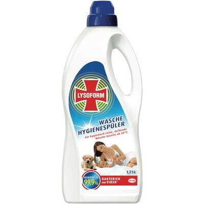 Grosspackung Lysoform Wäsche Hygienespüler 8 x 1,25 l = 10 Liter