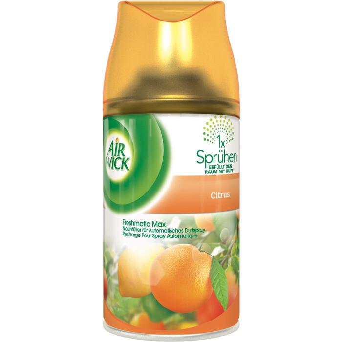 Grosspackung Airwick Freshmatic Nachfüllung Citrusfrisch 6 x 250 ml = 1,5 Liter