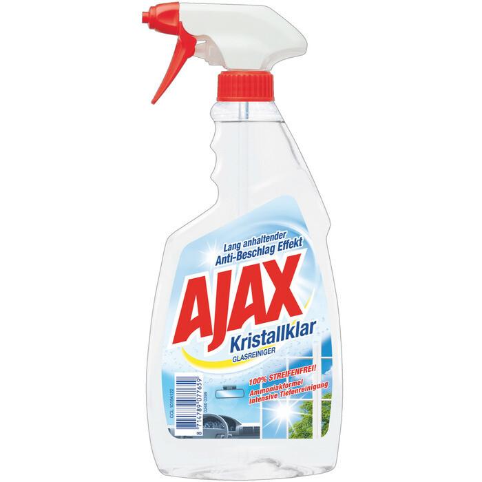 Grosspackung Ajax Glasreiniger Kristall 12 x 500 ml = 6 Liter