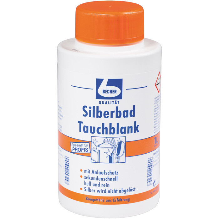 Grosspackung Becher Silberbad 10 x 1l = 10 Liter