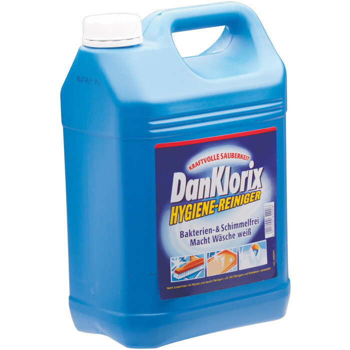 Grosspackung Dan Klorix Hygiene-Reiniger Original 5 Liter