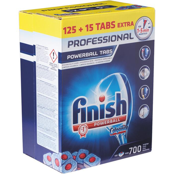 Grosspackung Finish Professional Tabs 125er+15 Stk.
