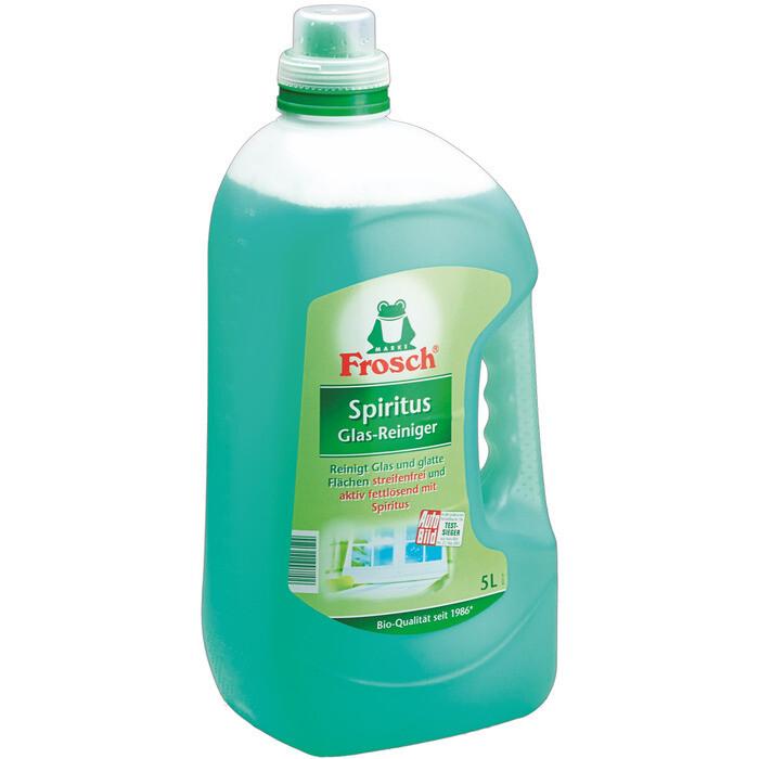 Grosspackung Frosch Spiritus Glasreiniger 5 Liter