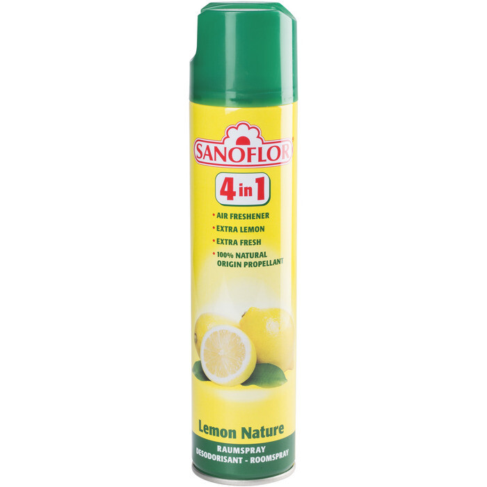 Grosspackung Sanoflor Raumspray Lemon Nature 12 x 300ml = 3,6 Liter