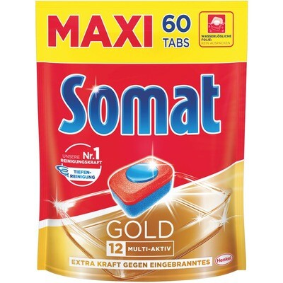 Somat Perfect 12 Maxi PackTabs Gold 60 Stk.