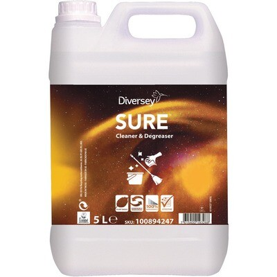 Grosspackung Sure Cleaner & Degreaser Biologischer Reiniger 5 Liter