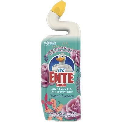 Grosspackung WC Ente Gel Reiniger Floral Fantasy Antibakterielle WC Reiniger12 x 750 ml = 9 Liter