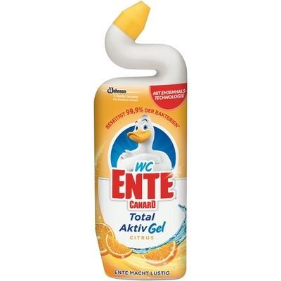 Grosspackung WC Ente Gel Reiniger Citrus Antibakterielle WC Reiniger 12 x 750 ml = 9 Liter
