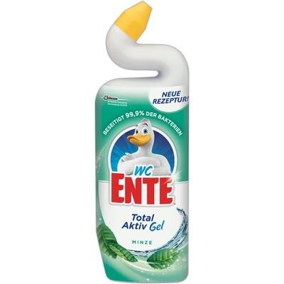 Grosspackung WC Ente Gel Reiniger Fresh Green Antibakterielle WC Reiniger 12  x 750 ml = 9 Liter