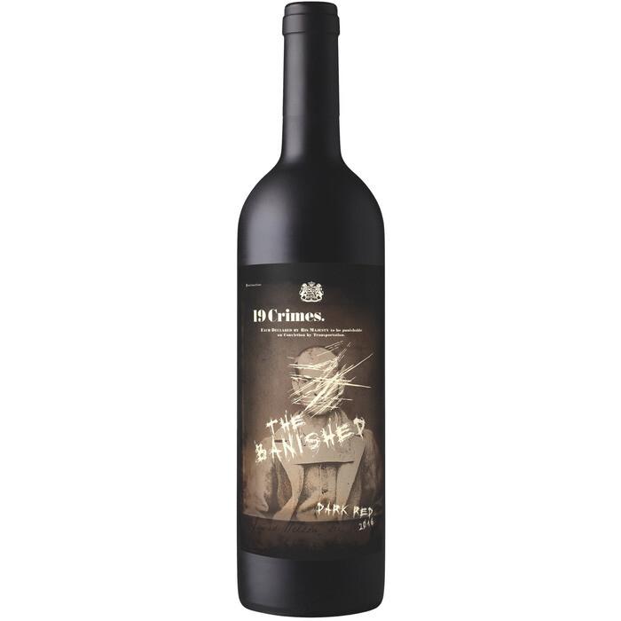 Grosspackung Rotwein 19 Crimes The Banished Red Wine Australien  6 x 0,75 l = 4,5 Liter