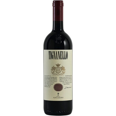 Grosspackung Rotwein Antinori Tignanello 2016 Toskana 6 x 0,75l = 4,5 Liter