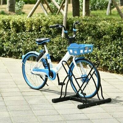 HOMCOM® Universal Fahrradständer Montageständer Velo-Ständer Metall Schwarz