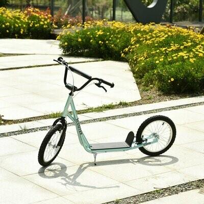 HOMCOM® Tretroller Scooter Cityroller Kinder verstellbar Aluminium Blau