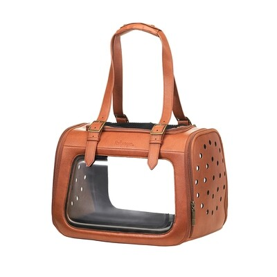 Ibiyaya Hundereisetasche,  Pet Transporter Portico Deluxe Leather