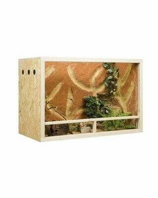 Holzkonzept OSB-Terrarium 150 x 80 x 60 cm Seitenbelüftung -