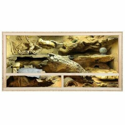 Repiterra Holz Terrarium Für Schildkröten 100x60x60cm -