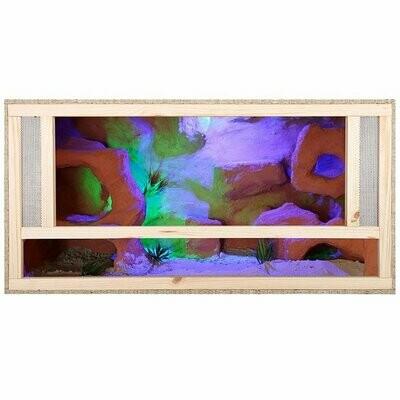 Repiterra Holz Terrarium Mit Frontbelüftung 80x40x40cm -