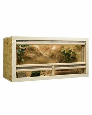 Outlet Holzkonzept OSB-Terrarium 100x50x50 cm mit Frontbelüftung