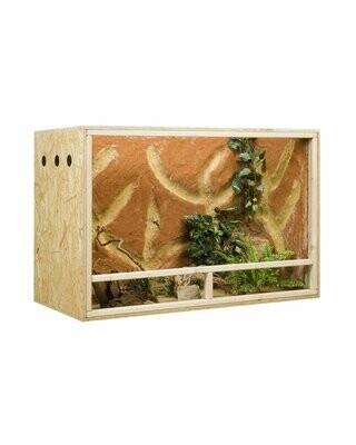 Holzkonzept OSB-Terrarium 120 x 80 x 60 cm Frontbelüftung