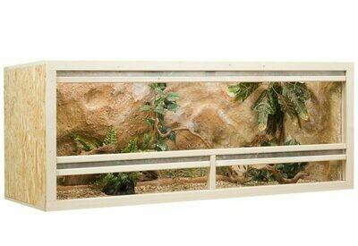 Holzkonzept OSB-Terrarium 150 x 60 x 60 cm Frontbelüftung