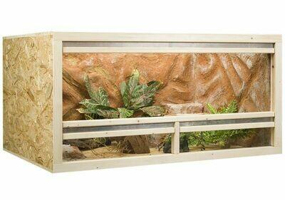 Holzkonzept OSB-Terrarium 150 x 60 x 80 cm Frontbelüftung -