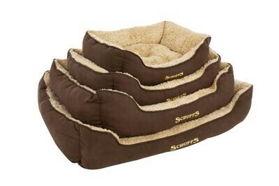 Scruffs® Cosy Box Bed, Braun/ Grösse: X-Large  90 x 70 cm