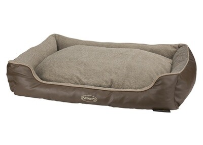 Scruffs®Chateau Memory Foam Box Bed, Latte/ Grösse: X-Large