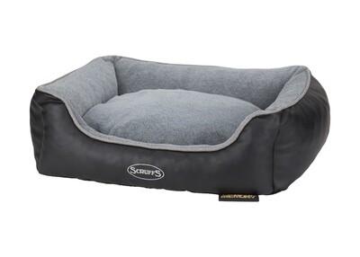 Scruffs®Chateau Memory Foam Box Bed, Dove/ Grösse: X-Large