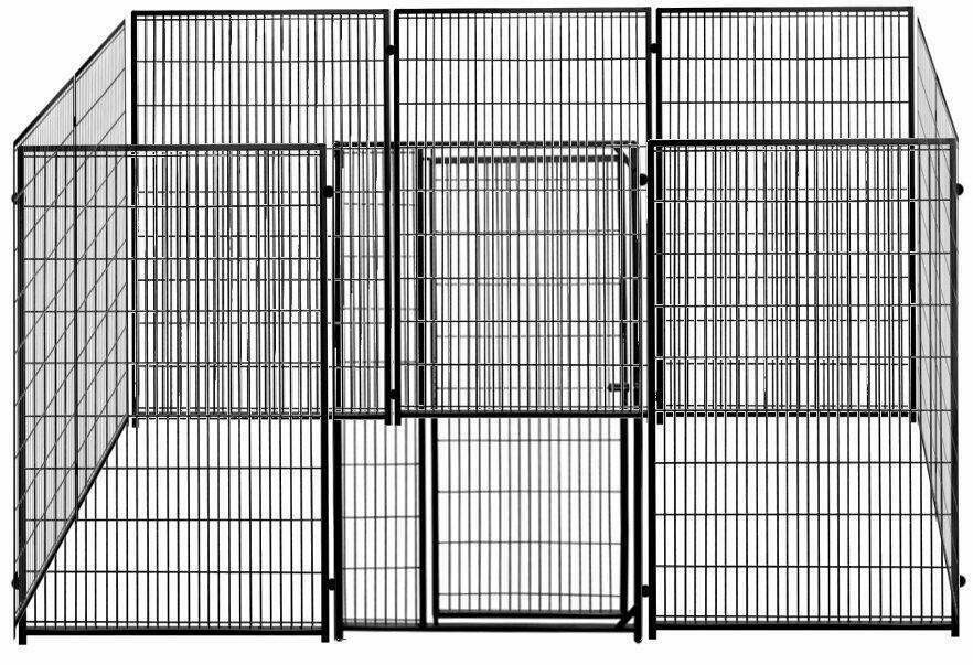Restpostenset: SAUERLAND Hundezwinger Gitterzwinger Colour 3 m x 4 m + 3 Zusatzelemente à 1 m