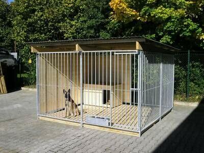 SAUERLAND Hundezwinger 1,5 seitig geschlossen, Sonderserie