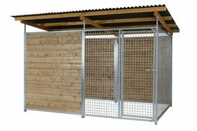 SAUERLAND Gitter-Hundezwinger 2,5-seitig geschlossen