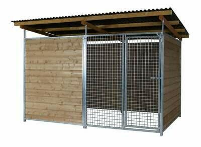 SAUERLAND Gitter-Hundezwinger 3,5-seitig geschlossen