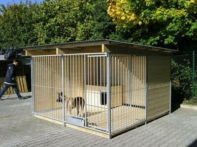 SAUERLAND Hundezwinger 2,5 seitig geschlossen, Sonderserie