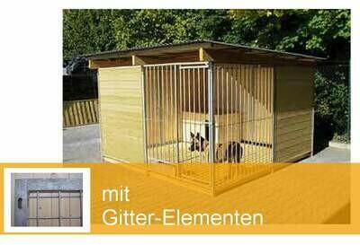 SAUERLAND Hundezwinger mit Gitter-Ecke