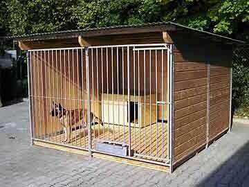 SAUERLAND Rohrstab-Hundezwinger 3 seitig geschlossen
