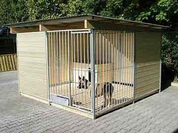 SAUERLAND Hundezwinger 2 seitig ganz, 2 halb geschlossen, Sonderserie