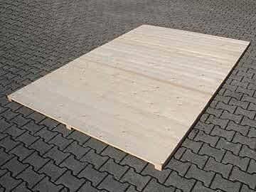 SAUERLAND Holzboden für Hundezwinger, unbehandelt