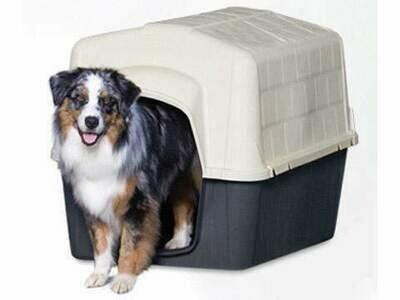 Petmate Kunststoff Hundehütte Barnhome 3