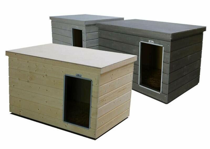 Sauerland Hundehütte isoliert