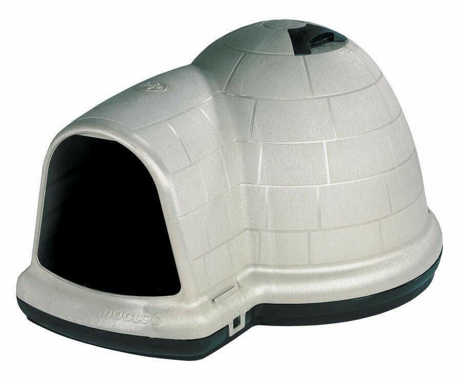 Petmate Iglu Kunststoff Hundehütte, Indigo XL
