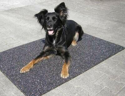 Gummimatten für Hundehütten