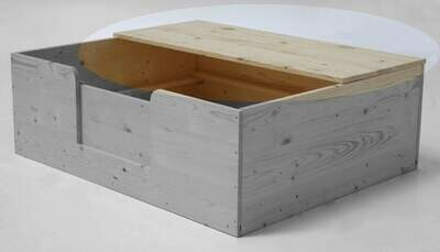 SAUERLAND Halber Deckel für Wurfkiste / Wurfbox Sonderserie