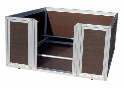 Sauerland Welpen-Wurfkiste / Wurfbox beschichtet, Variante 2 mit Wärmeplatte & gradgenauem Steuergerät