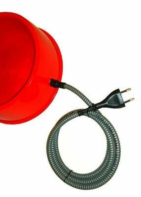 Beheizbarer PVC Hundenapf 1,5 l, mit Bissschutz, Futternapf