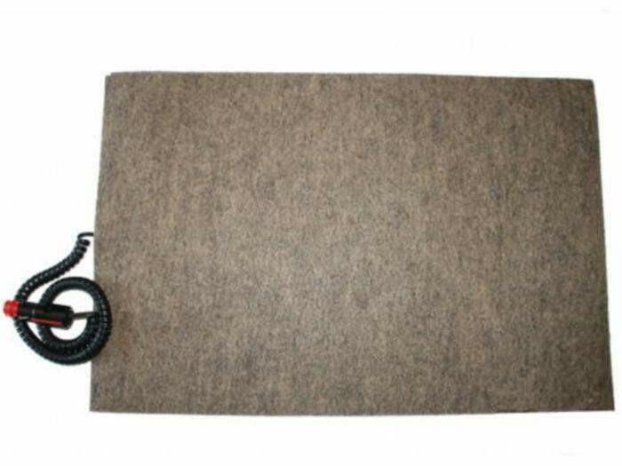 Hunde Heizmatte / Wärmeplatte Filz Stecker für Zigarettenanzünder