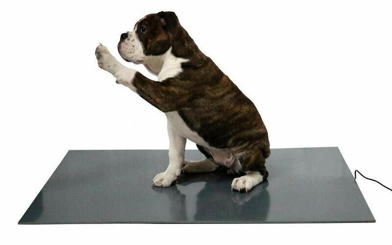 Hunde-/ Haustier-Wärmeplatte PVC, 24V Trafo, 58 x 81cm