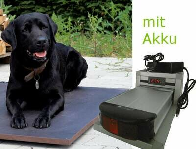 Hunde-/ Haustier-Mobile Wärmeplatte mit Akku 36 V
