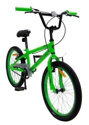 AMIGO BMX Fahrrad / Velo Fly 20 Zoll 35 cm Unisex V-Bremsen Grün